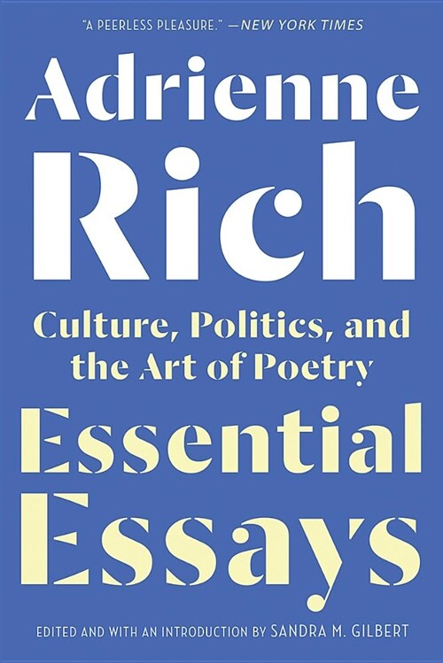 Essential Essays: Culture, Politics, and the Art of Poetry (Paperback)