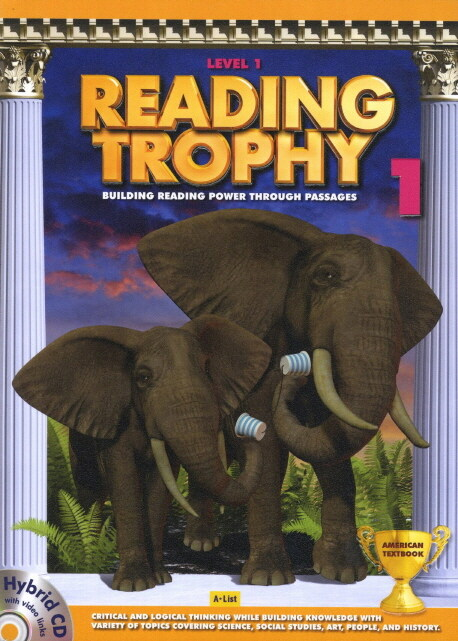 Reading Trophy 1 : Student Book (Paperback + Hybrid CD)