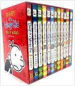 윔피키드 Diary of a Wimpy Kid Box of Books (Book 1-12) (12 paperback, 미국판)