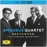 [수입] 베토벤 : 현악 사중주 전집 (오리지널 커버 7CD+BDA)