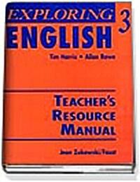 Exploring English 3 (Paperback, Teachers Manua)