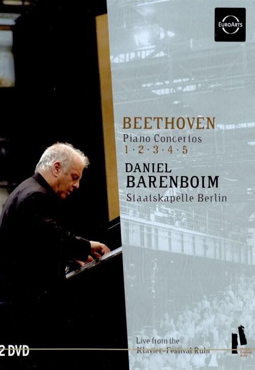 베토벤 피아노 협주곡 전집 - 1번, 2번, 3번, 4번 & 5번 황제 [32p 내지](2disc)