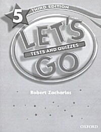 Lets Go: 5: Tests & Quizzes (Paperback)