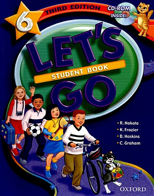 Lets Go: 6: Student Book with CD-ROM Pack (Package)