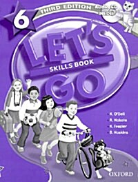 Lets Go: 6: Skills Book with Audio CD Pack (Package)