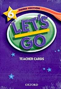 Lets Go: 6: Teacher Cards (Cards)