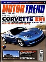 Motor Trend (월간 미국판): 2008년 2월호