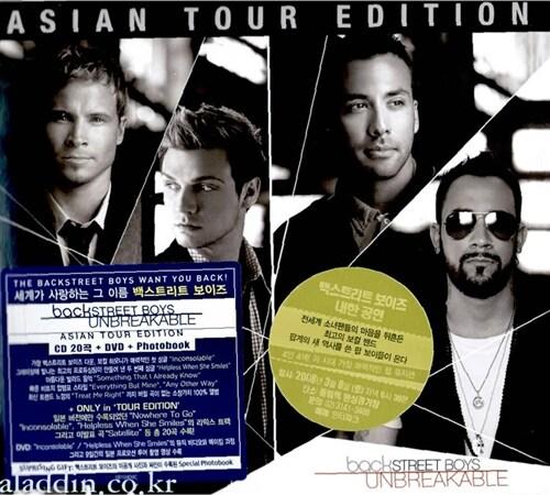 Backstreet Boys - Unbreakable (Asian Tour Edition) [CD+DVD+사진집]