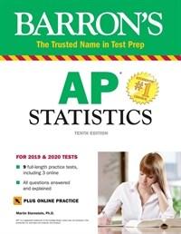 AP Statistics with Online Tests (Paperback, 10)