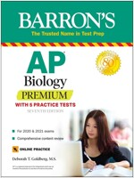 AP Biology Premium: With 5 Practice Tests (Paperback, 7)