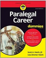Paralegal Career For Dummies, 2nd Edition (Paperback, 2)