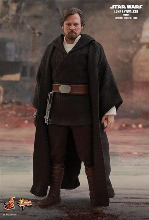 [Hot Toys] 스타워즈 라스트 제다이 루크 스카이워커 MMS507 - 1/6th scale Luke Skywalker (Crait) Collectible Figure