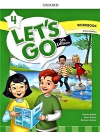 (5판)Let's Go 4: Workbook with Online Practice ( Paperback, 5th Edition)