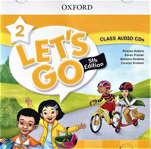 (5판)Lets Go 2: Class Audio CDs (CD 2장, 5th Edition)