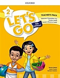 (5판)Lets Go 2: Teachers Book (Online Practice & Teachers Resource Center) (Paperback, 5th Edition)