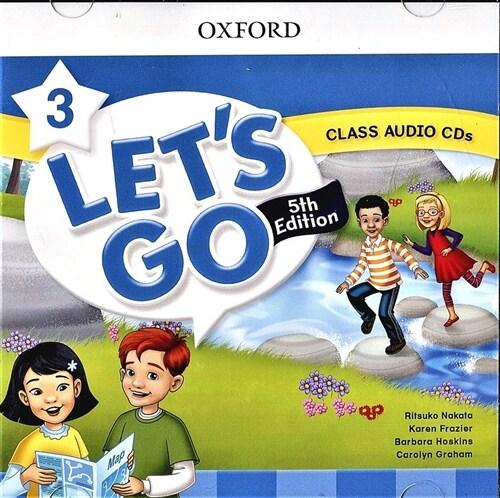 (5판)Lets Go 3: Class Audio CDs (CD 2장, 5th Edition)