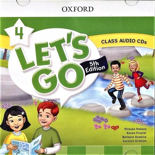 (5판)Lets Go 4: Class Audio CDs (CD 2장, 5th Edition)