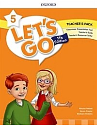 (5판)Lets Go 5: Teachers Book (Online Practice & Teachers Resource Center) (Paperback, 5th Edition )