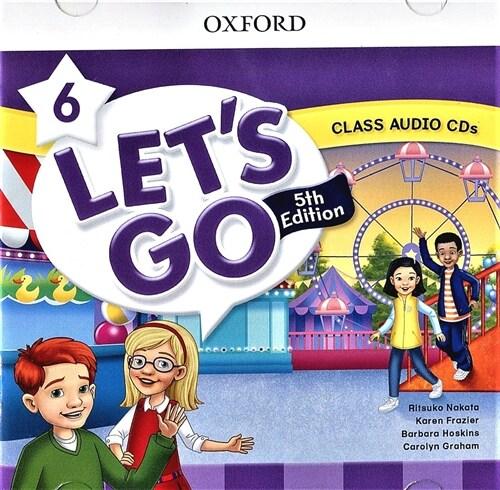 (5판)Lets Go 6: Class Audio CDs (CD 2장, 5th Edition)