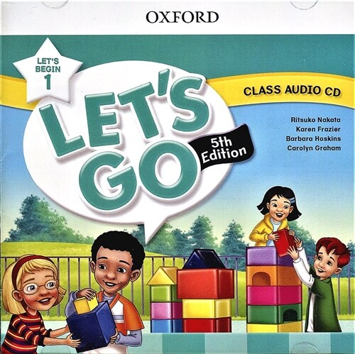 (5판)Lets Go Begin 1: Class Audio CDs (CD 1장, 5th Edition)