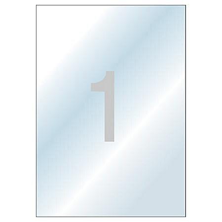 애니라벨 보호용투명라벨/F2010/1라벨 (10매/팩)