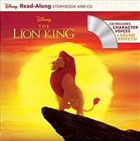 The Lion King Read-Along Storybook (Paperback + CD)
