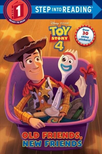 Old Friends, New Friends (Disney/Pixar Toy Story 4) (Paperback)