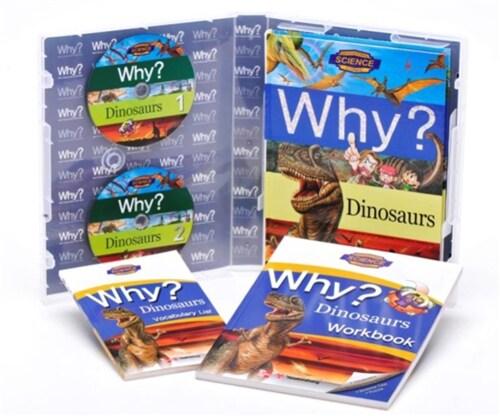 Why? Dinosaurs (책 + 워크북 + 단어장 + 오디오 CD 2장)