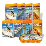 Top Readers 1단계 과학 Science (4종) (Book4 + Workbook4 + CD4)