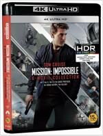 [4K 블루레이] 미션 임파서블 6-Movie (6disc: 4K UHD Only)