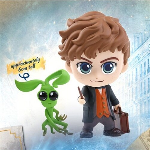 [Hot Toys] 코스베이비 뉴트 스캐맨더 & 보우트러클 COSB516 - Newt Scamander and Bowtruckle Cosbaby (S) Collectible Set