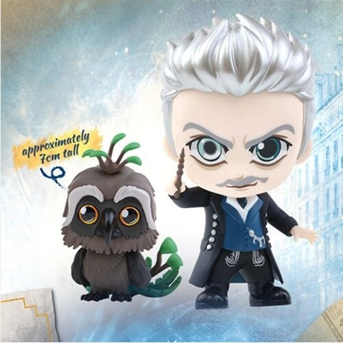 [Hot Toys] 코스베이비 겔러트 그린델왈드 & 어거레이 COSB517 -Gellert Grindelwald and Augurey Cosbaby (S) Collectible Set