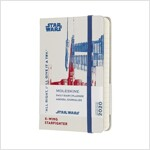Moleskine 2020 Star Wars Daily Planner, 12m, Pocket, X-Wing, Hard Cover (3.5 X 5.5) (Other)