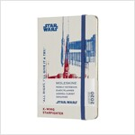Moleskine 2020 Star Wars Weekly Planner, 12m, Pocket, X-Wing, Hard Cover (3.5 X 5.5) (Other)