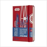 Moleskine 2019-20 Star Wars Weekly Planner, 18m, Pocket, Tie Fighter, Hard Cover (3.5 X 5.5) (Other)