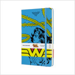 Moleskine Limited Edition Notebook Wonder Woman, Large, Ruled, Blue, Hard Cover (5 X 8.25) (Hardcover)