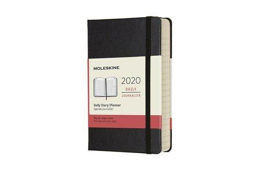 Moleskine 2020 Daily Planner, 12m, Pocket, Black, Hard Cover (3.5 X 5.5) (Other)