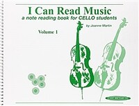 I Can Read Music, Vol 1: A Note Reading Book for Cello Students (Paperback, Spiral-bound)