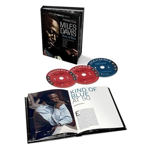 [수입] Miles Davis - Kind Of Blue [50TH ANNIVERSARY COLLECTORS EDITION]