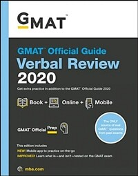 GMAT Official Guide 2020 Verbal Review: Book + Online Question Bank (Paperback)