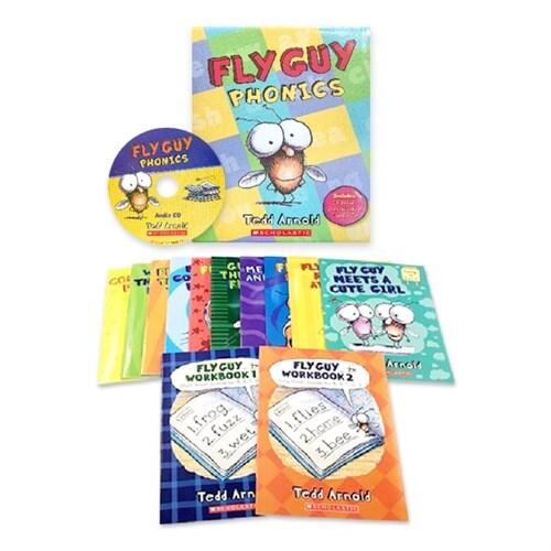 플라이가이 파닉스 세트 Fly Guy Phonics Boxed Set (Book 12권 + Audio CD)
