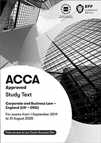 ACCA Corporate and Business Law (English) : Study Text (Paperback)
