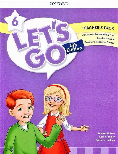 (5판)Lets Go 6: Teachers Book (Online Practice & Teachers Resource Center) (Paperback, 5th Edition)