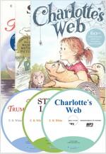 E. B. WHITE 3종 원서 세트 (Paperback 3종 + MP3 CD 3장)