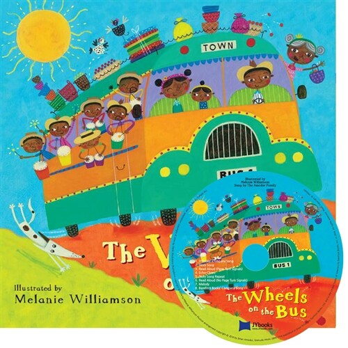 노부영 The Wheels on the Bus (New) (paperback + Audio CD)