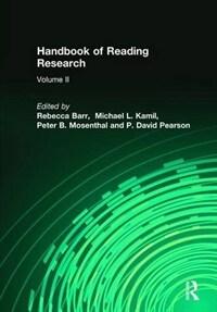Handbook of reading research. 2