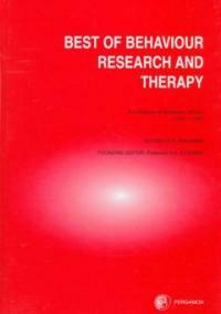 The best of Behaviour research and therapy 1st ed
