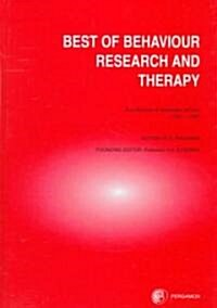 The Best of Behaviour Research and Therapy (Hardcover)