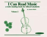 I Can Read Music, Vol 2: A Note Reading Book for Cello Students (Paperback, Spiral-bound)