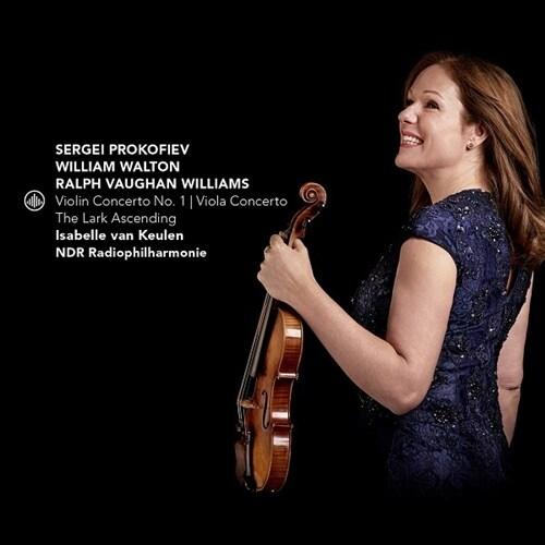 [수입] 프로코피에프: 바이올린 협주곡 1번 / 월튼: 비올라 협주곡 / 본 윌리엄스: 종달새는 날아오르고